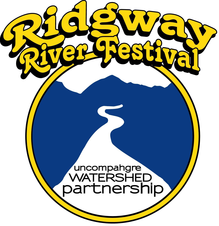 Ridgway River Festival Logo