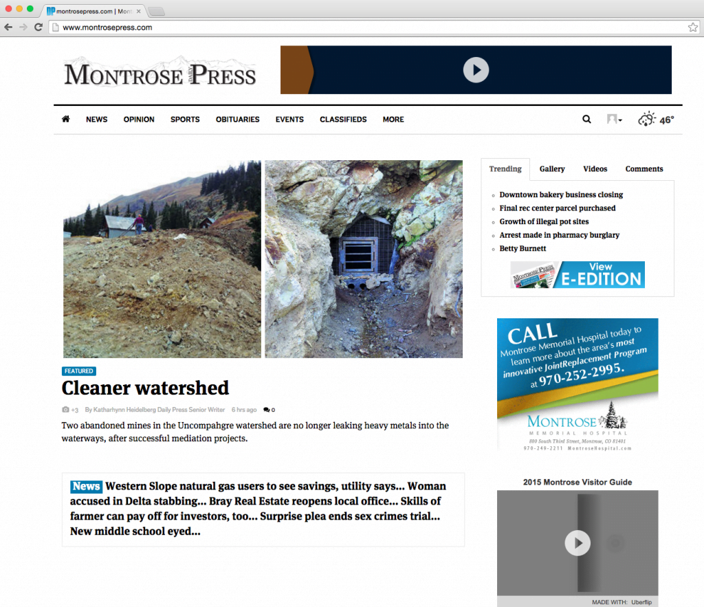 MDP 2015-10-22 Home Page