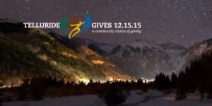 Telluride Gives Day banner