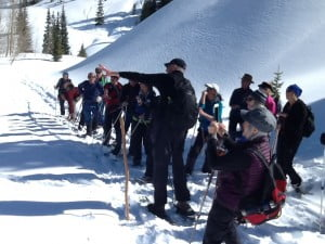 2019 Red Mountain Mining District Snowshoe Tour @ County Road 13