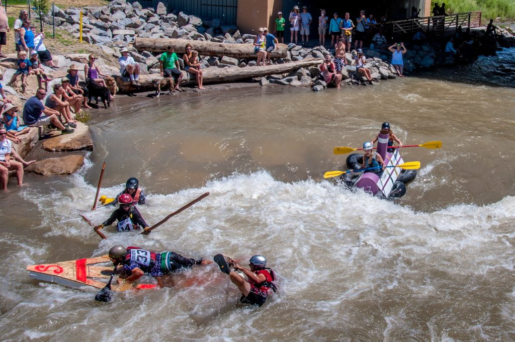 Junk of the Unc Build-A-Boat Workshop 2018 @ Ridgway, Colorado