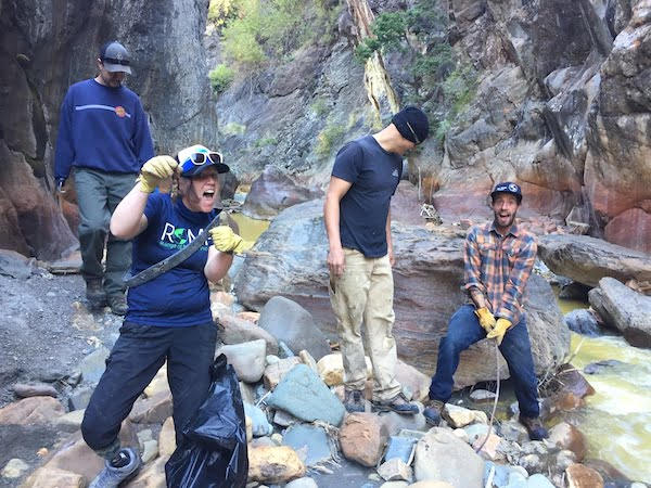 4th annual Love Your Gorge volunteer day @ Ouray Ice Park
