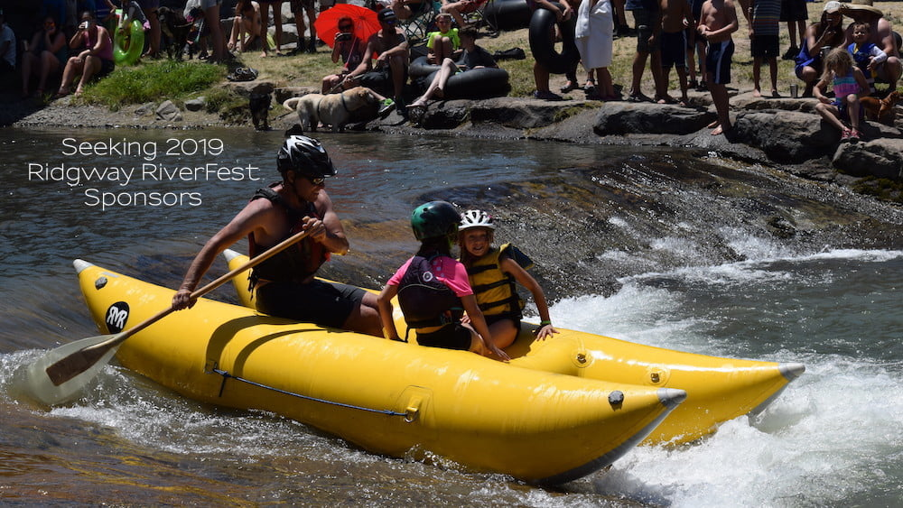 Seeking Ridgway RiverFest Sponsors