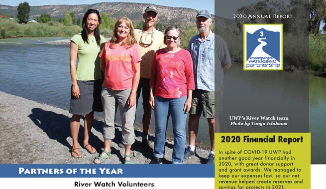 UWP's 2020 Partners of the Year: Colorado River Watch volunteers