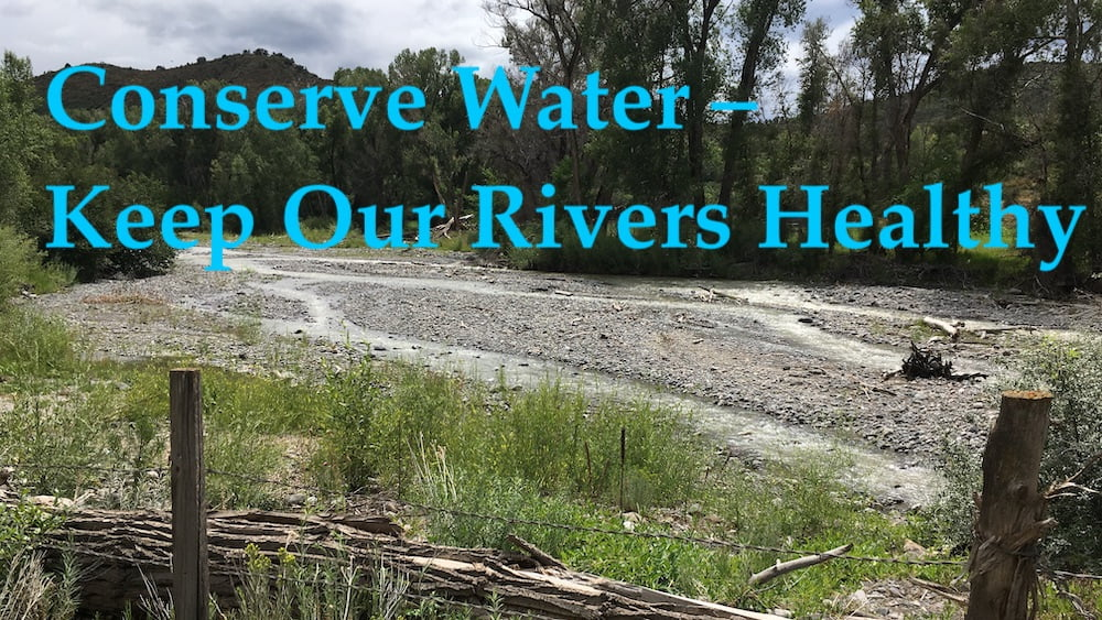 American River Water Conservation Tips